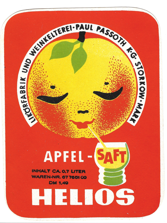 "Apfelsaft-Etikett"""